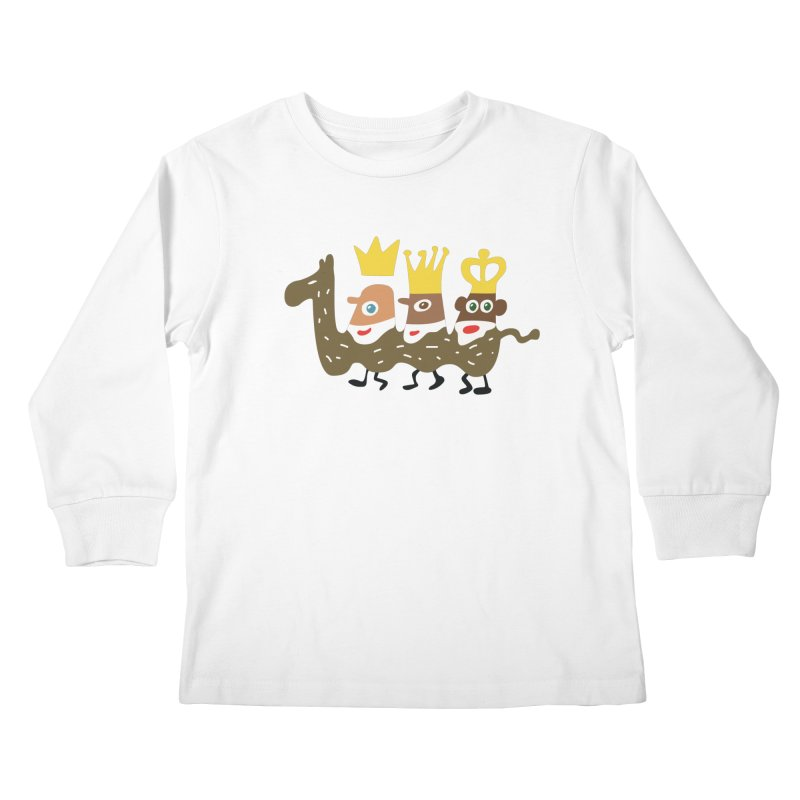Holy Kings Kids Longsleeve T-Shirt by Dicker Dandy