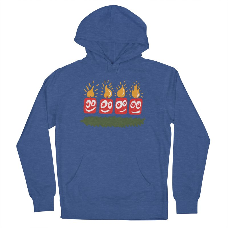 Candles Women's Pullover Hoody by Dicker Dandy