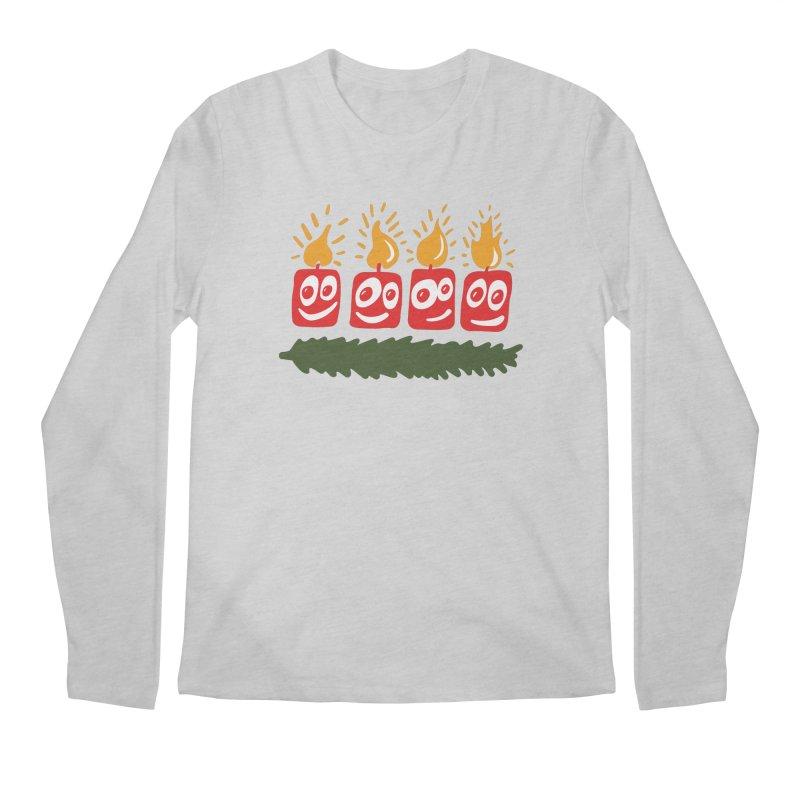 Candles Men's Longsleeve T-Shirt by Dicker Dandy