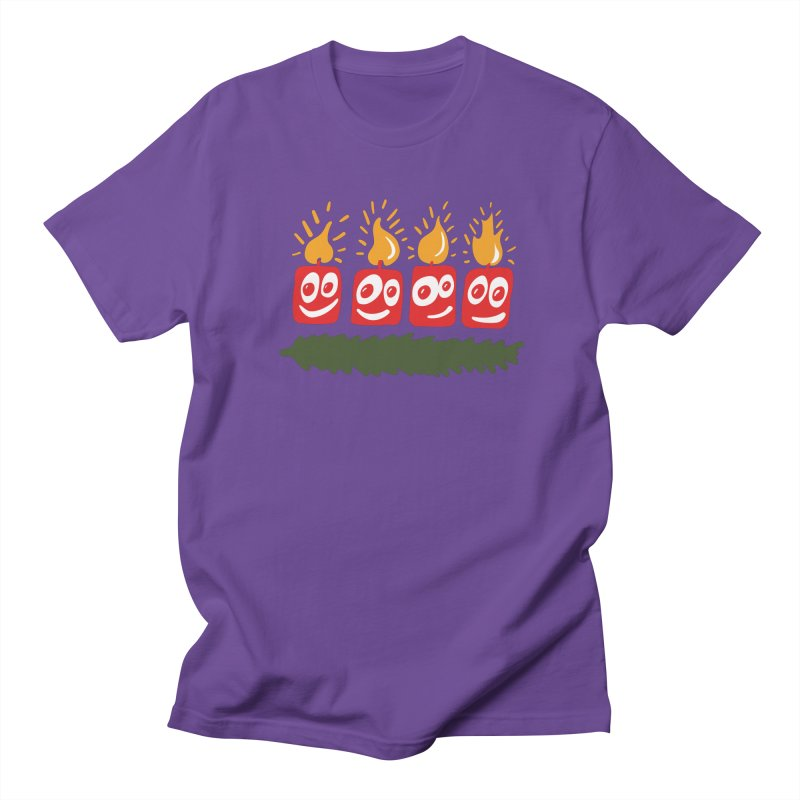 Candles Women's Unisex T-Shirt by Dicker Dandy