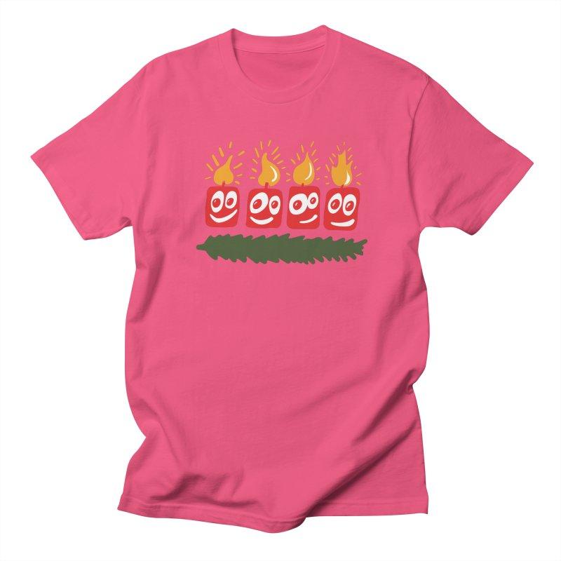 Candles Men's T-Shirt by Dicker Dandy