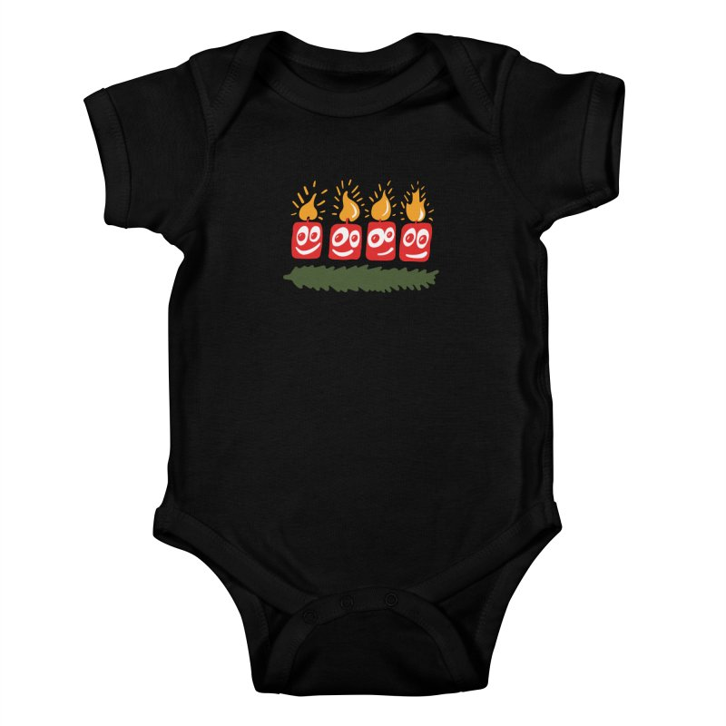 Candles Kids Baby Bodysuit by Dicker Dandy