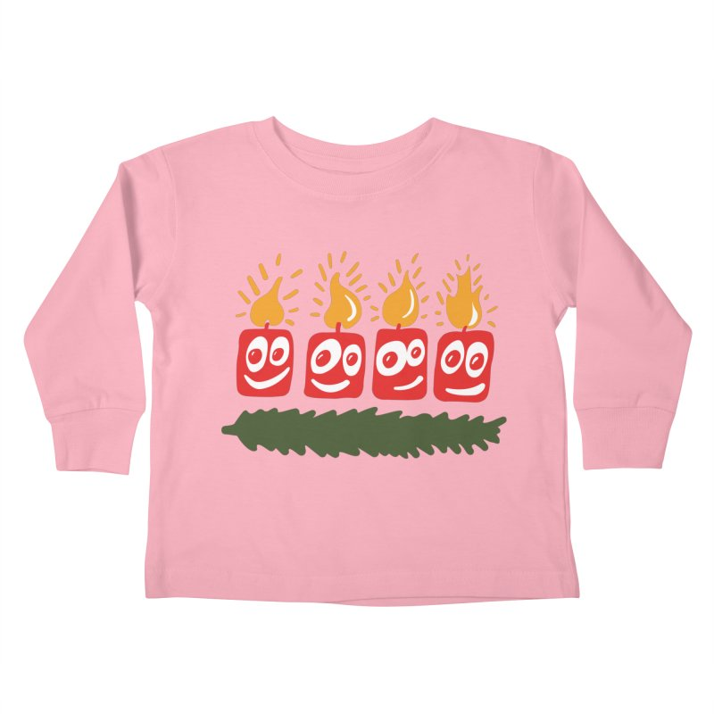 Candles Kids Toddler Longsleeve T-Shirt by Dicker Dandy