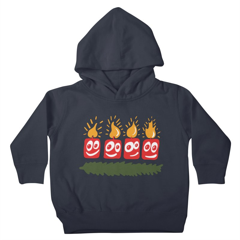 Candles Kids Toddler Pullover Hoody by Dicker Dandy