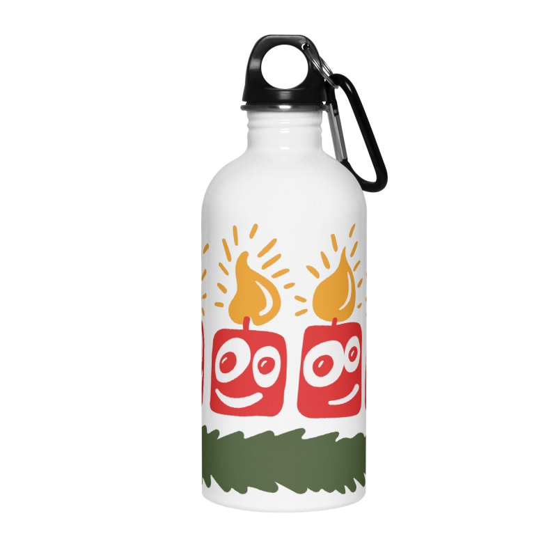 Candles Accessories Water Bottle by Dicker Dandy
