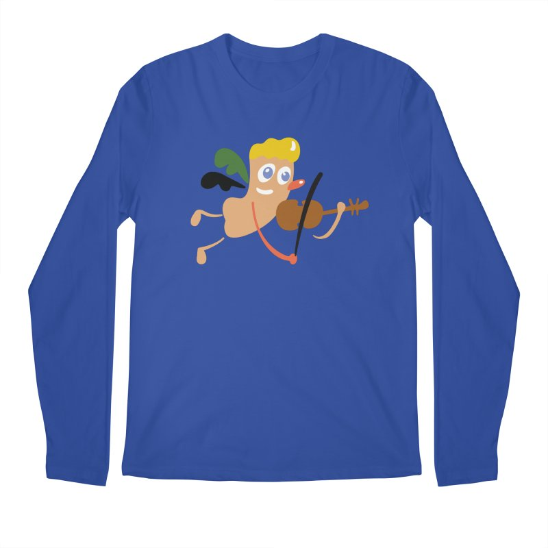 Little Angel Men's Regular Longsleeve T-Shirt by Dicker Dandy