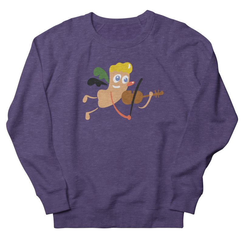 Little Angel Women's Sweatshirt by Dicker Dandy