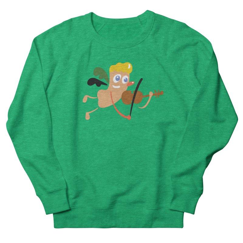 Little Angel Men's French Terry Sweatshirt by Dicker Dandy