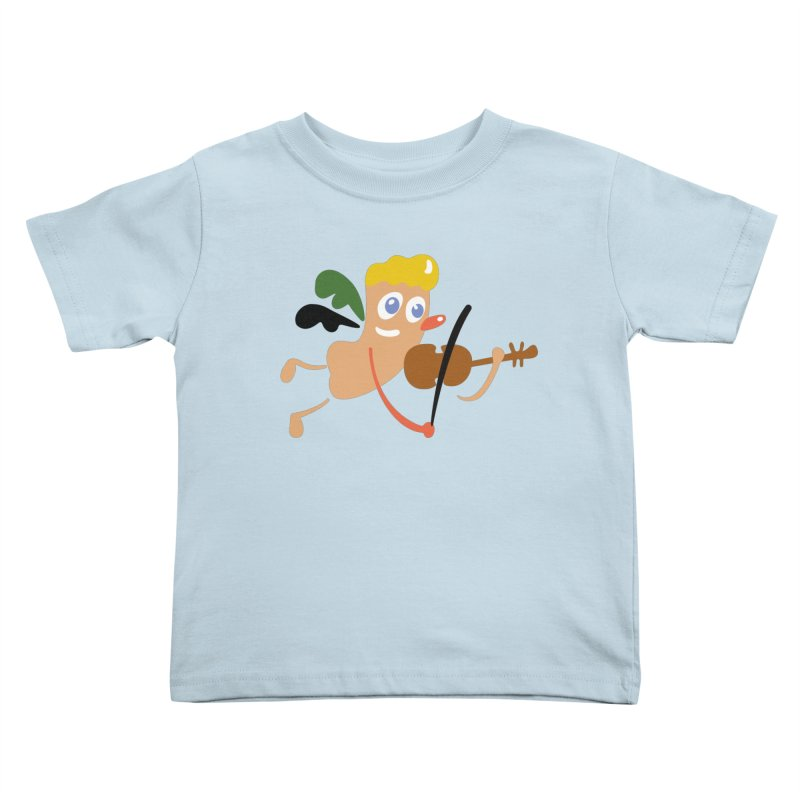 Little Angel Kids Toddler T-Shirt by Dicker Dandy