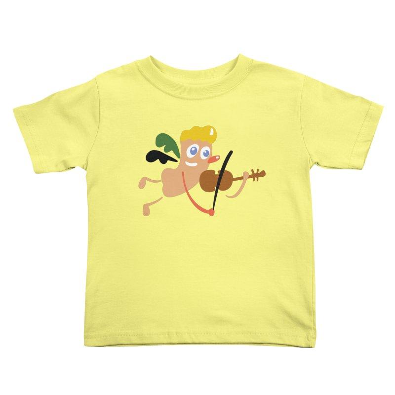Little Angel Kids Toddler T-Shirt by Dicker Dandy