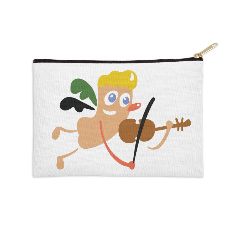 Little Angel Accessories Zip Pouch by Dicker Dandy