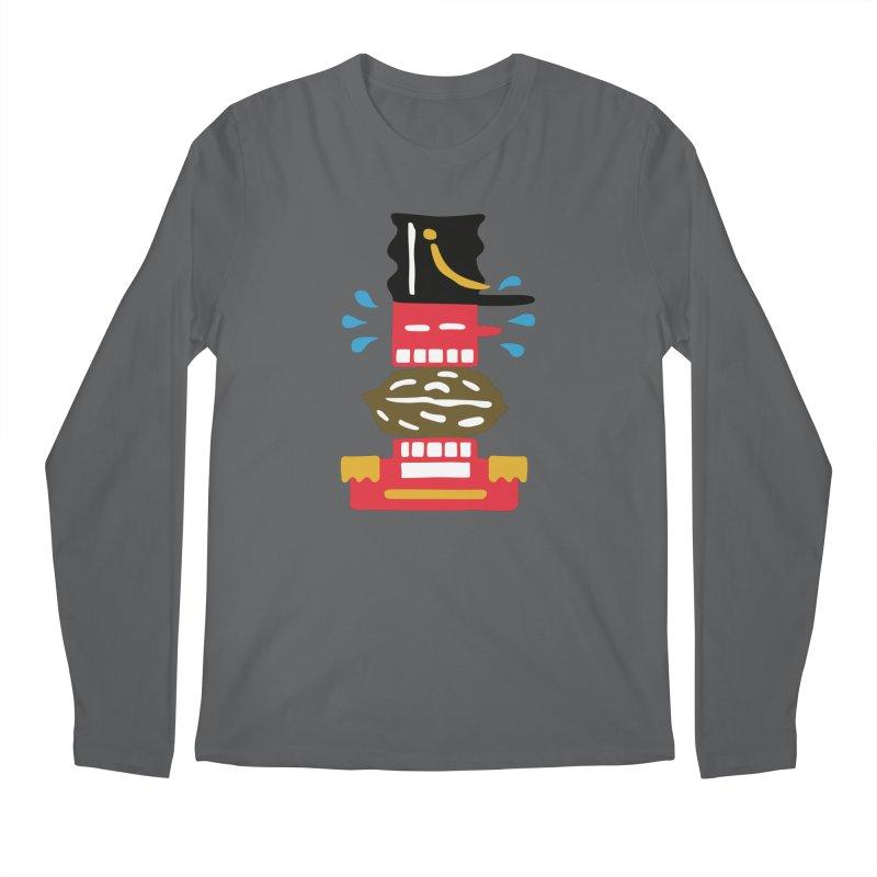 Nutcracker Men's Longsleeve T-Shirt by Dicker Dandy