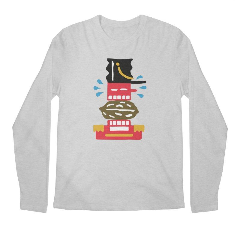 Nutcracker Men's Regular Longsleeve T-Shirt by Dicker Dandy