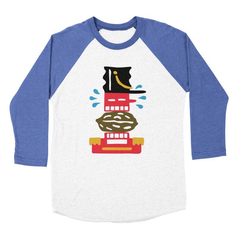 Nutcracker Women's Baseball Triblend T-Shirt by Dicker Dandy
