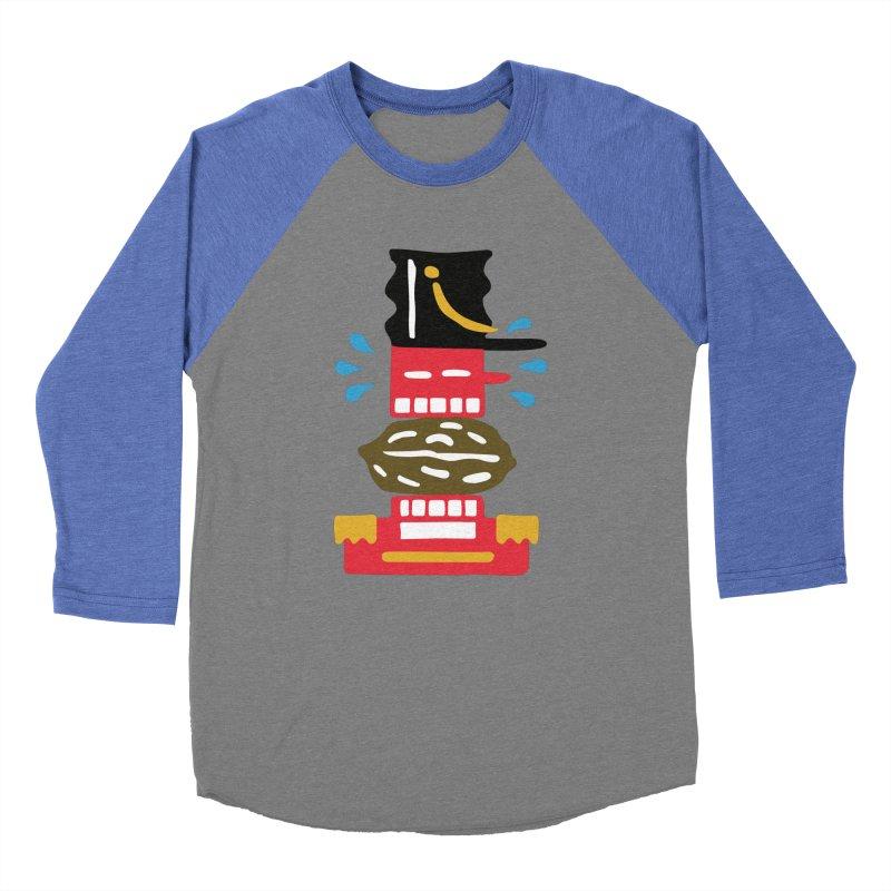 Nutcracker Women's Baseball Triblend Longsleeve T-Shirt by Dicker Dandy