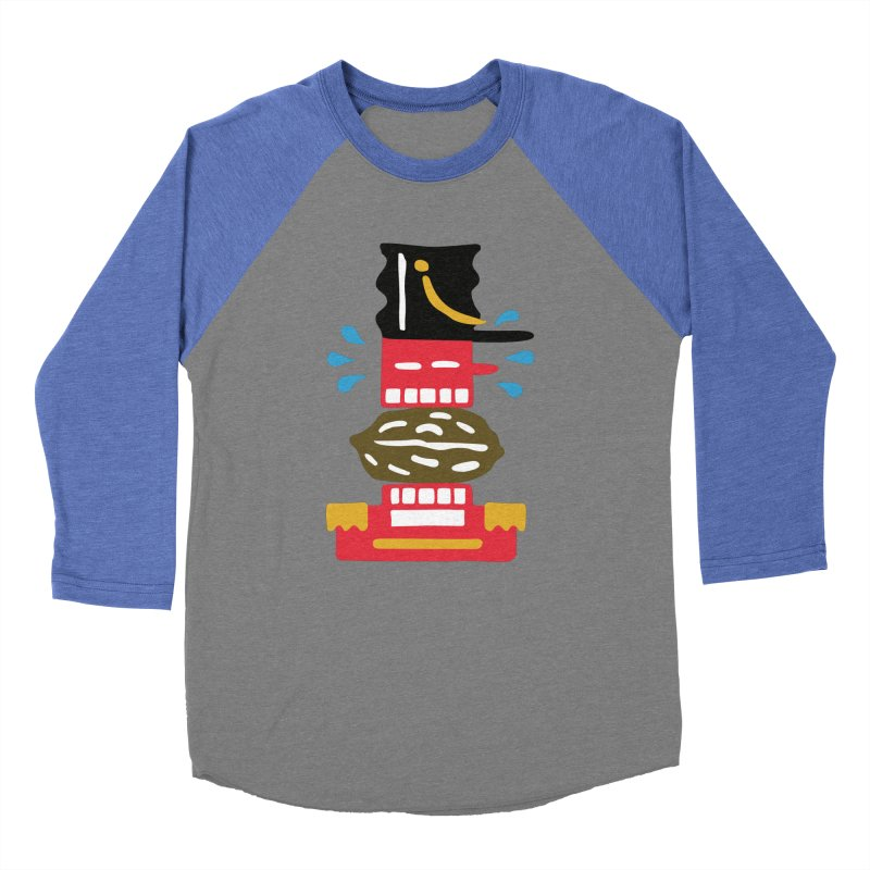 Nutcracker Men's Baseball Triblend Longsleeve T-Shirt by Dicker Dandy