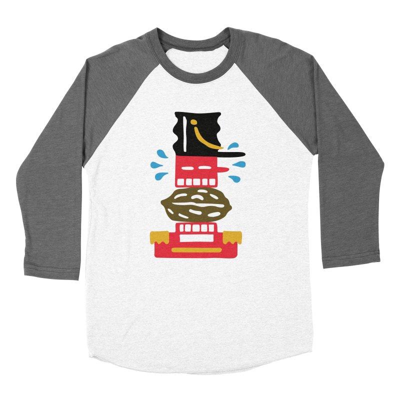 Nutcracker Men's Baseball Triblend T-Shirt by Dicker Dandy