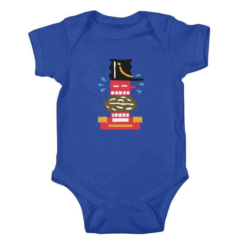 Nutcracker Kids Baby Bodysuit by Dicker Dandy