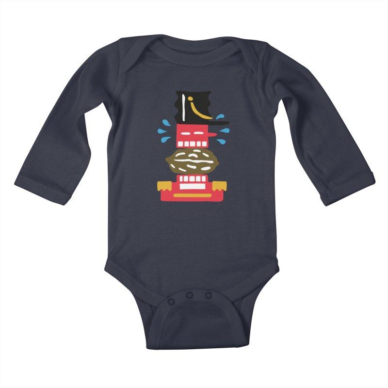 Nutcracker Kids Baby Longsleeve Bodysuit by Dicker Dandy