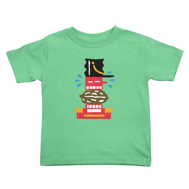 Nutcracker Kids Toddler T-Shirt by Dicker Dandy