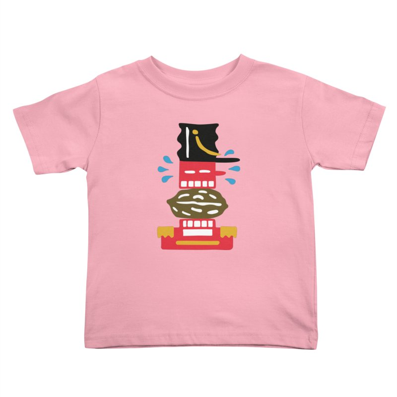 Nutcracker Kids Toddler T-Shirt by Dicker Dandy