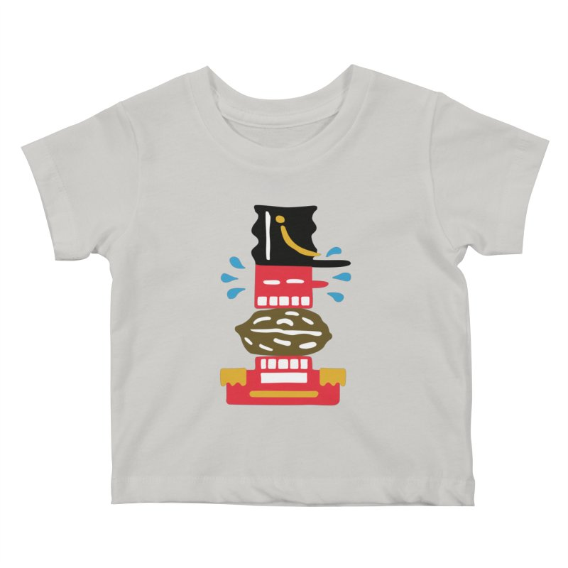 Nutcracker Kids Baby T-Shirt by Dicker Dandy