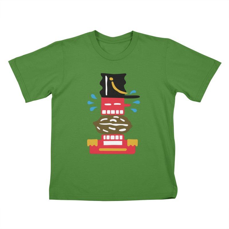 Nutcracker Kids T-Shirt by Dicker Dandy