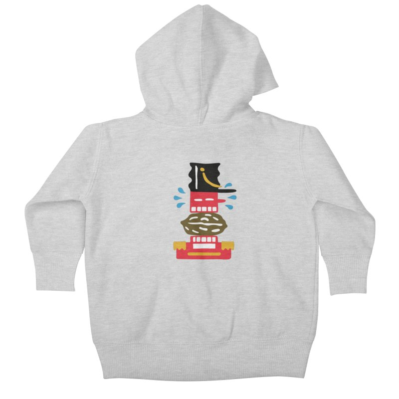 Nutcracker Kids Baby Zip-Up Hoody by Dicker Dandy