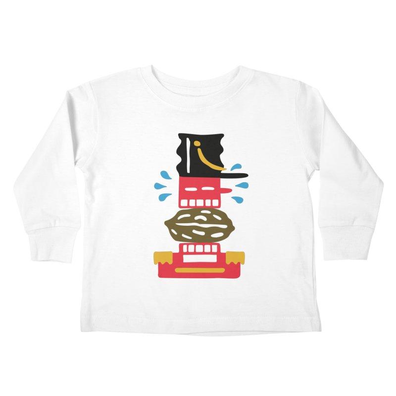 Nutcracker Kids Toddler Longsleeve T-Shirt by Dicker Dandy