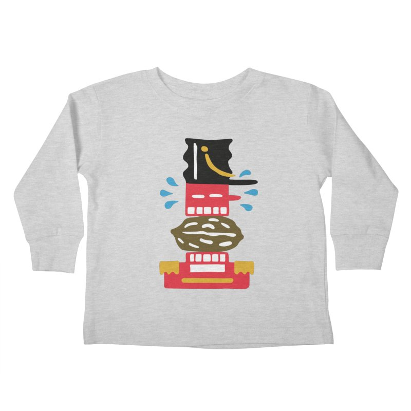 Nutcracker Kids Toddler Longsleeve T-Shirt by Dicker Dandy