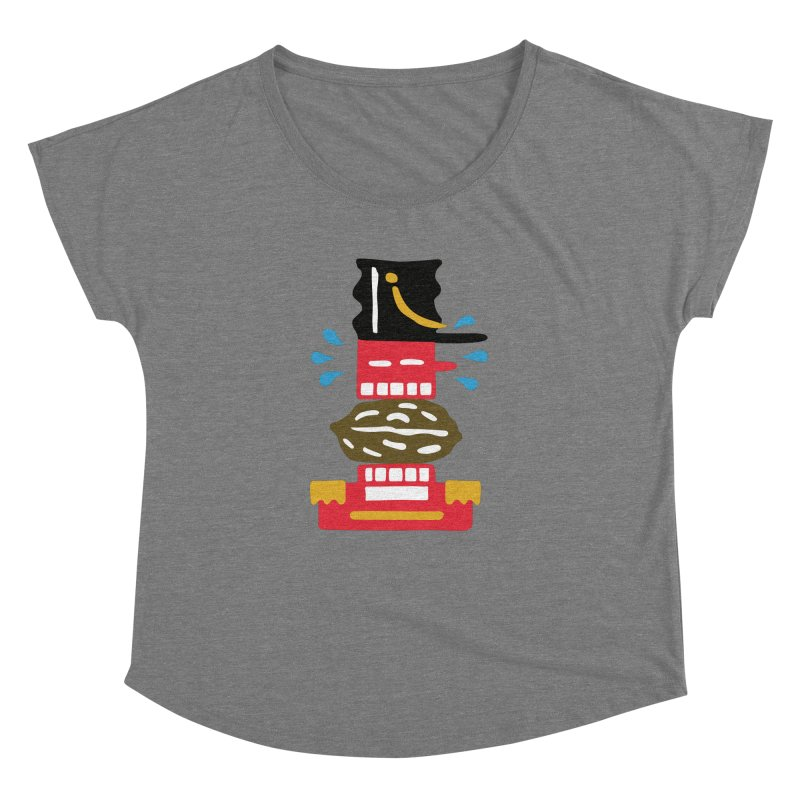 Nutcracker Women's Scoop Neck by Dicker Dandy