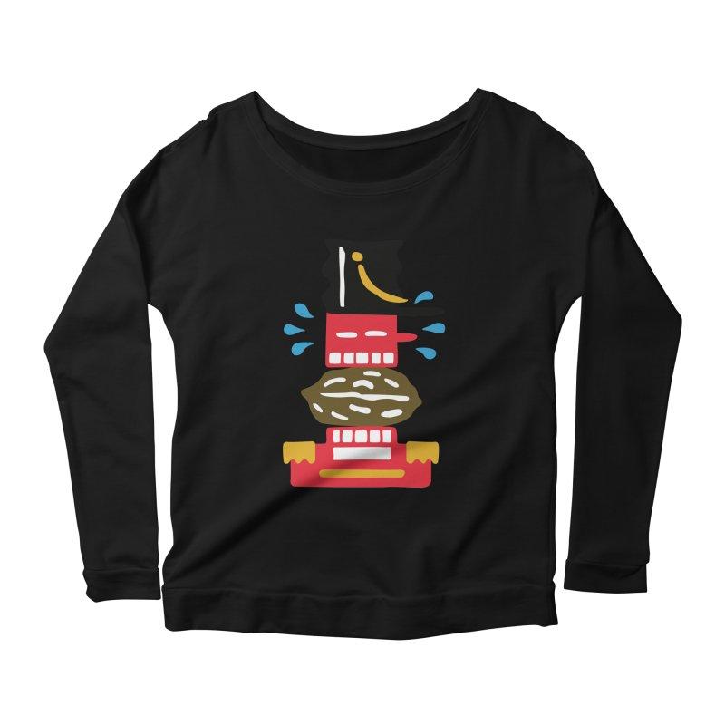 Nutcracker Women's Scoop Neck Longsleeve T-Shirt by Dicker Dandy