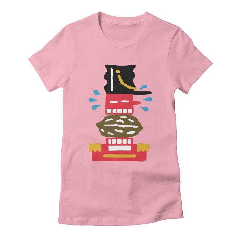 Nutcracker Women's Fitted T-Shirt by Dicker Dandy