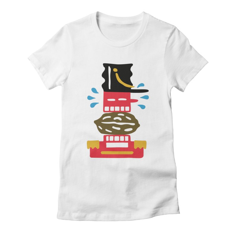 Nutcracker Women's Fitted T-Shirt by Dicker Dandy