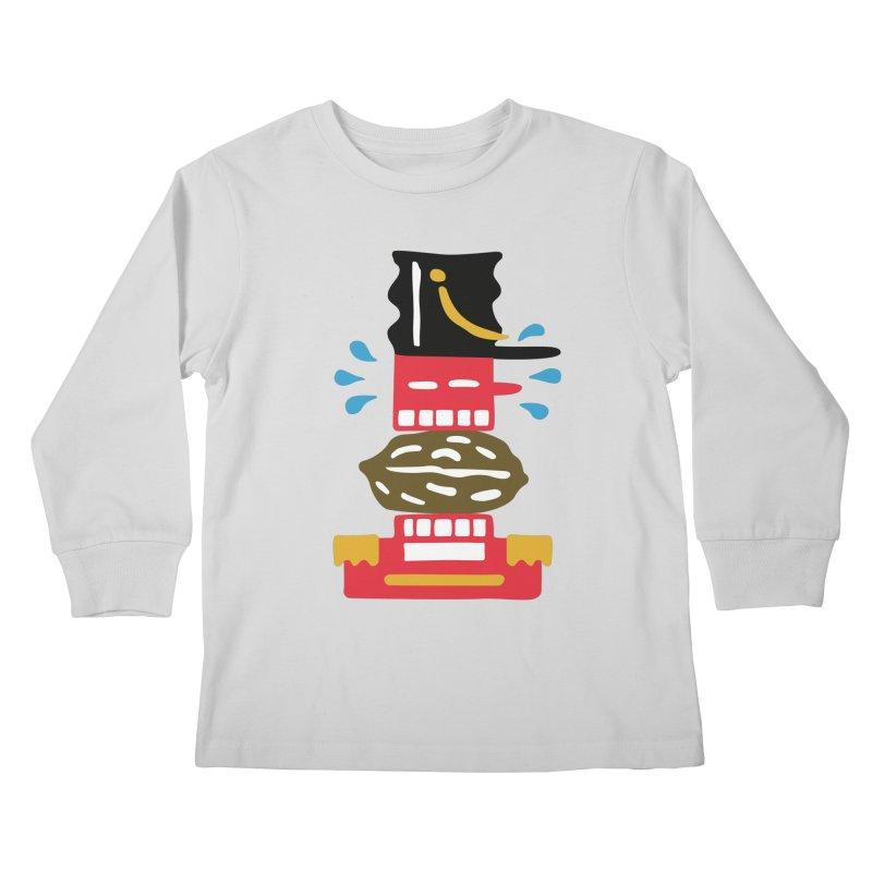 Nutcracker Kids Longsleeve T-Shirt by Dicker Dandy