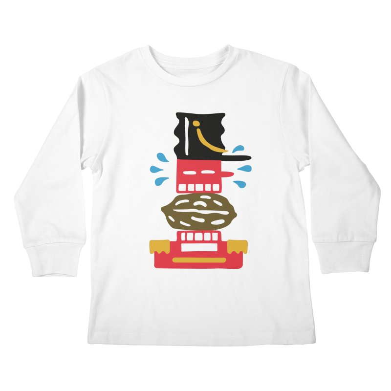 Nutcracker Kids Longsleeve T-Shirt by Dicker Dandy
