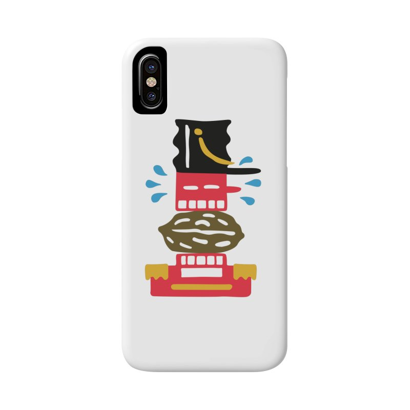 Nutcracker Accessories Phone Case by Dicker Dandy