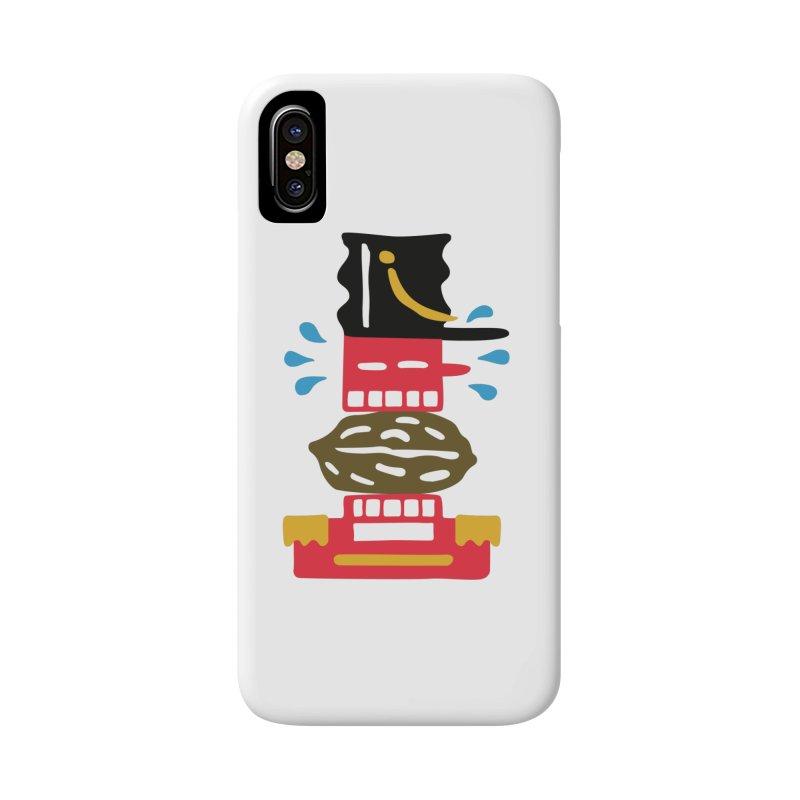 Nutcracker Accessories Phone Case by Dicker Dandy