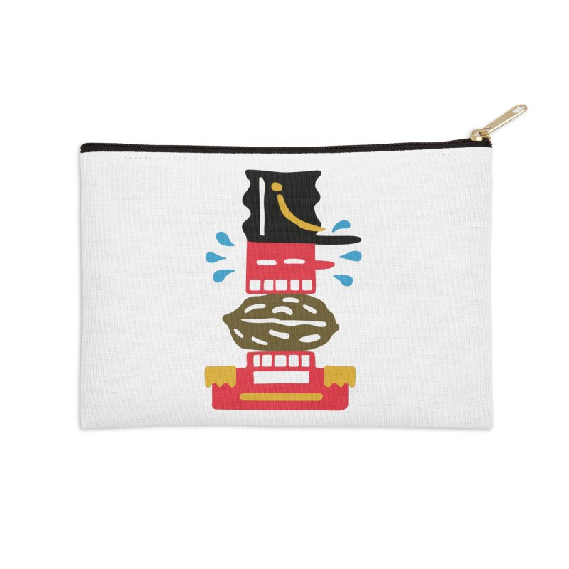 Nutcracker Accessories Zip Pouch by Dicker Dandy