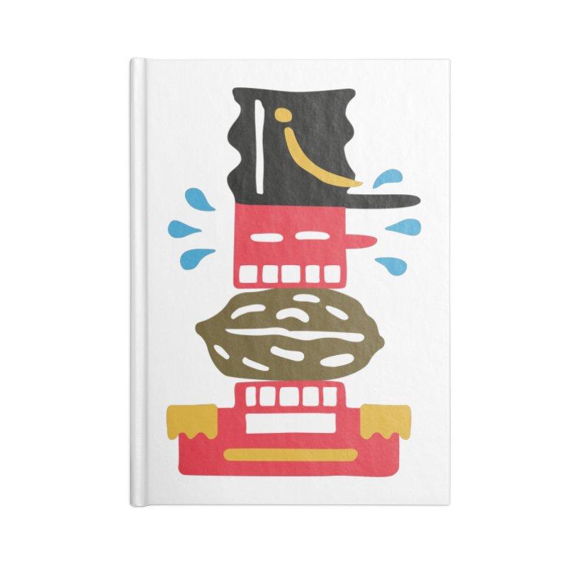Nutcracker Accessories Notebook by Dicker Dandy