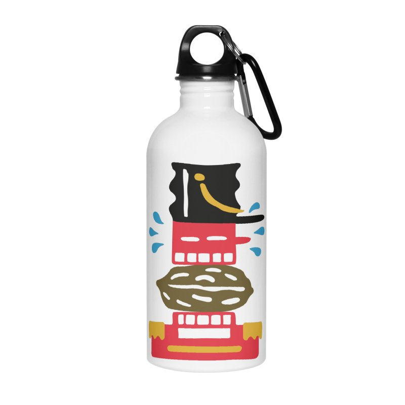 Nutcracker Accessories Water Bottle by Dicker Dandy