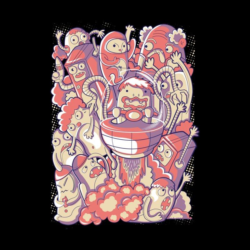 Blast Off Men's T-Shirt by Diddle Doodle