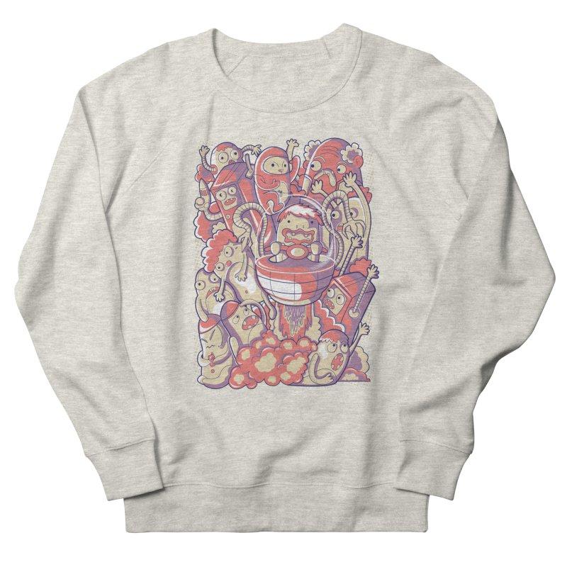Blast Off Men's Sweatshirt by Diddle Doodle