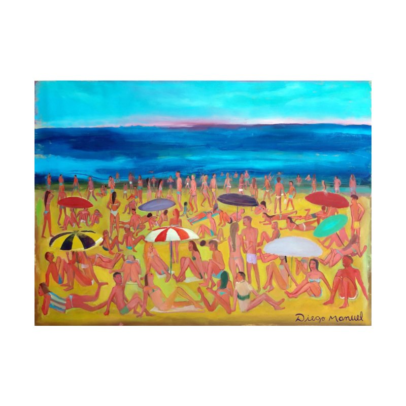 Playa Grande 2 Home Stretched Canvas by Diego Manuel Rodriguez Artist Shop