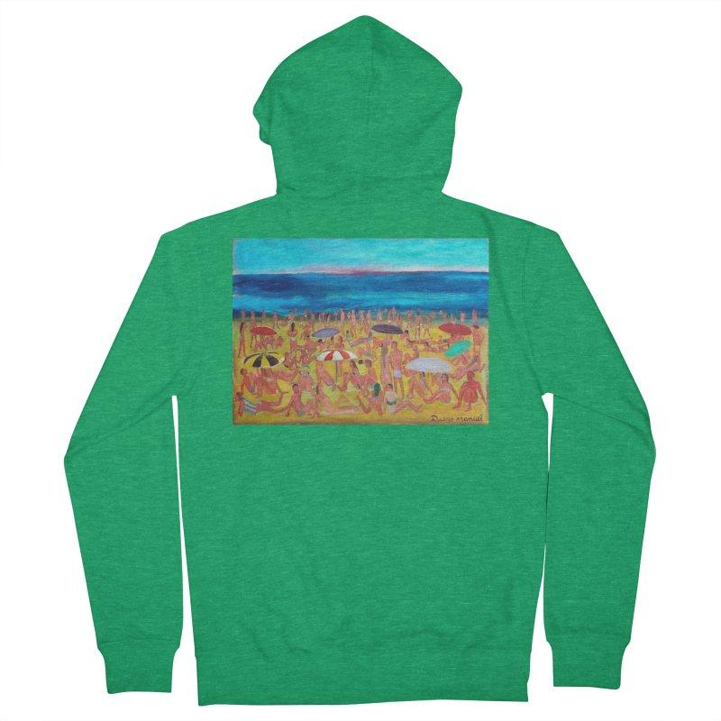 Playa Grande 2 Men's Zip-Up Hoody by Diego Manuel Rodriguez Artist Shop