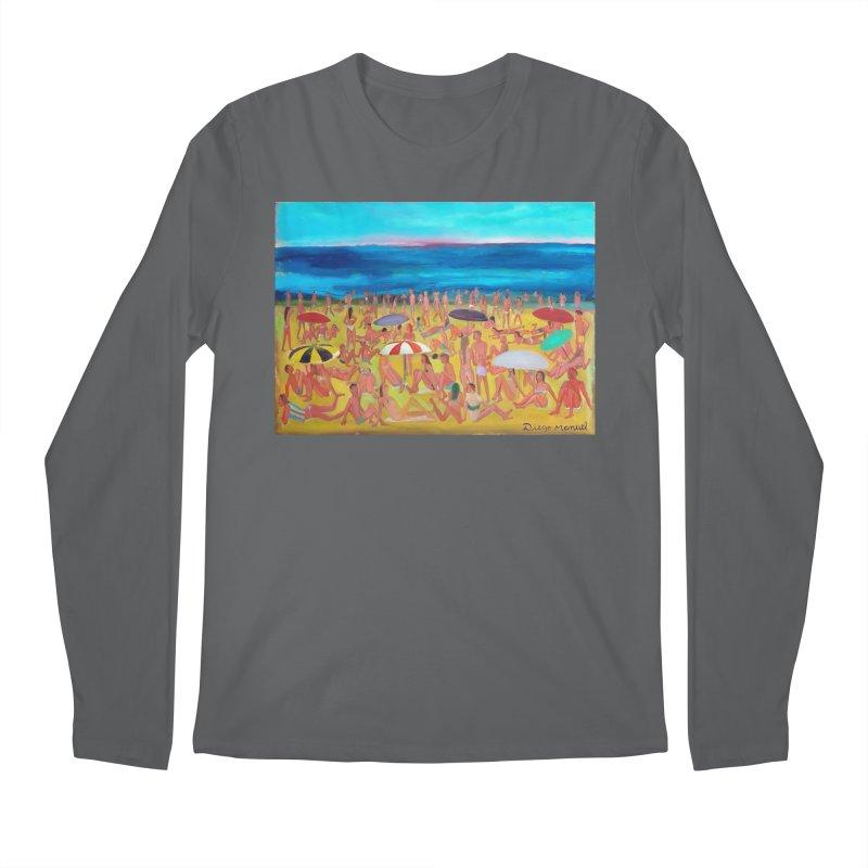 Playa Grande 2 Men's Longsleeve T-Shirt by Diego Manuel Rodriguez Artist Shop