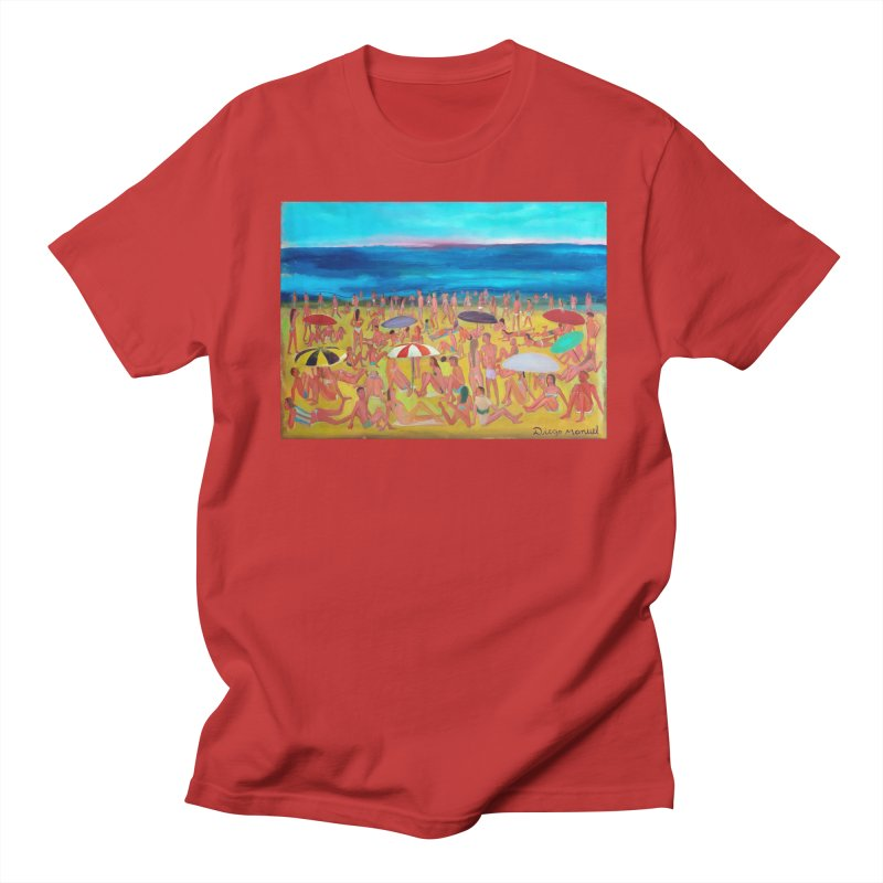 Playa Grande 2 Men's T-Shirt by Diego Manuel Rodriguez Artist Shop