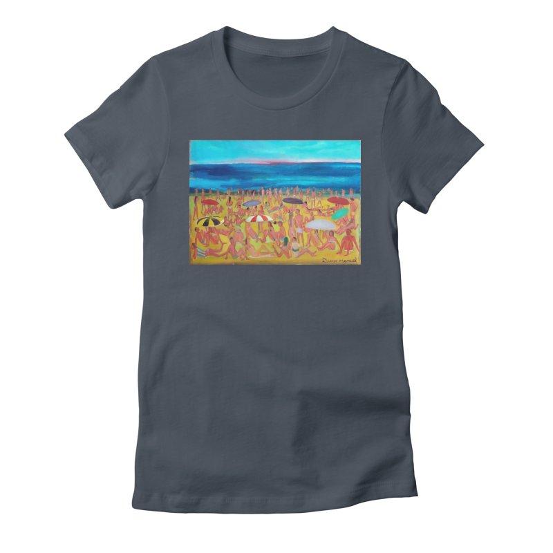 Playa Grande 2 Women's T-Shirt by Diego Manuel Rodriguez Artist Shop