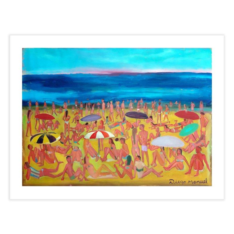 Playa Grande 2 Home Fine Art Print by Diego Manuel Rodriguez Artist Shop