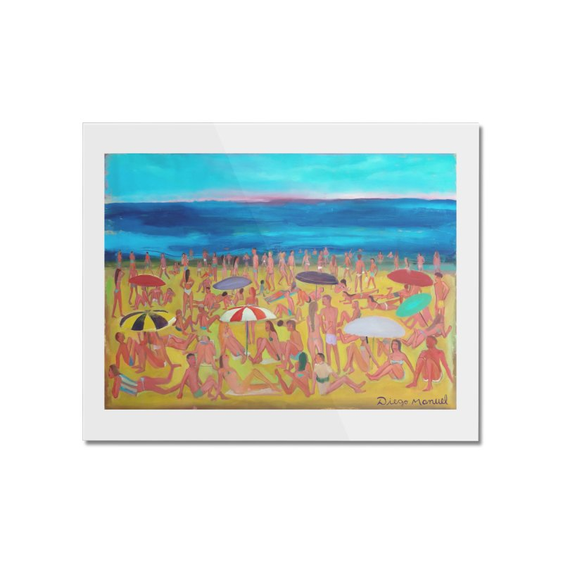 Playa Grande 2 Home Mounted Acrylic Print by Diego Manuel Rodriguez Artist Shop